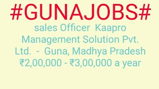 #JOBS#near#me Jobs in GUNA For Freshers and Graduates   No experience   Part Time   At Home  