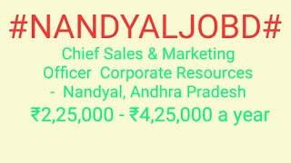 #JOBS#near#me|Jobs in NANDYAL For Freshers and Graduates | No experience | Part Time | At Home |
