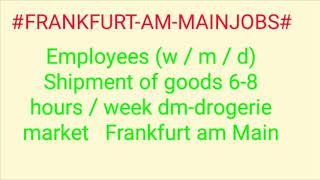 #FRANKFURT-AM-MAIN#JOBS