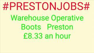 #PRESTON#JOBS
