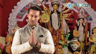 Tiger Shroff wishes Happy Navratri from the TUFCON TMT family