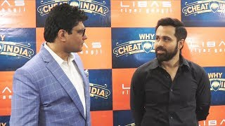 WHY CHEAT INDIA | Promotion At LIBAS | Emraan Hashmi And Shreya Dhanwanthary