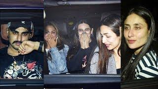 Malaika Arora Arjun Kapoor Kareena Kapoor & Many Celebs At Karan Johar's House Party