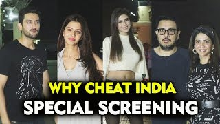Why Cheat India Special Screening | Emraan Hashmi | Shreya Dhanwanthary