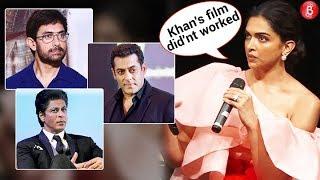 Deepika Padukone REACTS To Salman Khan Shah Rukh Khan, Aamir Khan FLOPS In 2018