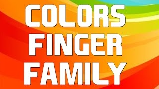 Colors Finger Family | Learn Colours for Kids Toddler | Finger Family Song