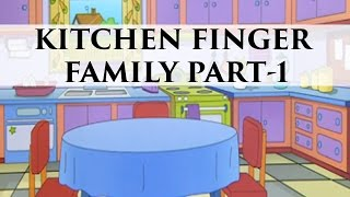 Kitchen Finger Family | Popular Finger Family Nursery Rhymes
