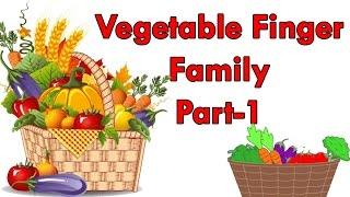 Vegetables Finger Family - 1 | Finger Family Collection