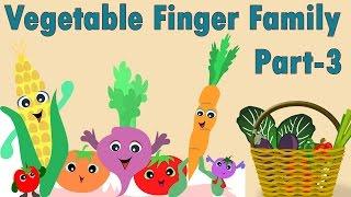 Vegetables Finger Family - 3 | Finger Family Collection