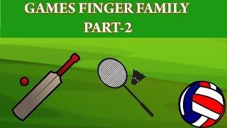 Games Finger Family | Finger Family Collection