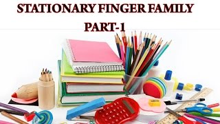 Stationary Finger Family - Part 1 | Popular Nursery Rhymes for Kids