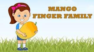 Mango Finger Family | Fruit Finger Family