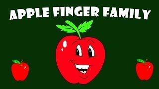 Apple Finger Family | Fruit Finger Family