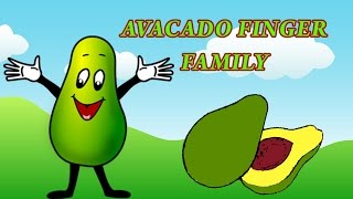 Avocado Finger Family | Fruit Finger Family