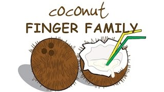 Top Finger Family Collection | Daddy Finger Nursery Rhymes songs | Coconut