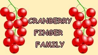 Cranberry Finger Family | Fruit Finger Family