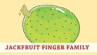 Jackfruit Finger Family | Fruit Finger Family