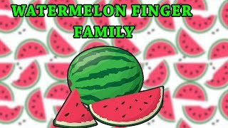 Watermelon Finger Family | Fruit Finger Family