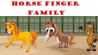 Horse Finger Family | Animal Finger Family
