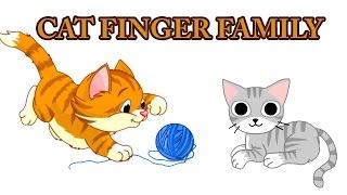 Cat Finger Family | Animal Finger Family