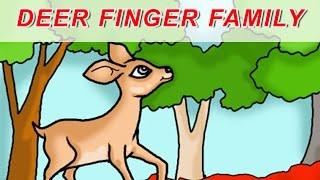 Deer Finger Family | Animal Finger Family