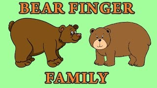 Bear Finger Family | Animal Finger Family