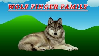 Wolf Finger Family | Animal Finger Family