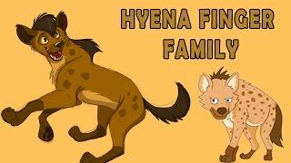 Hyena Finger Family | Animal Finger Family