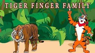 Tiger Finger Family | Animal Finger Family