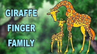 Giraffee Finger Family | Animal Finger Family