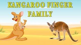 Kangaroo Finger Family | Animal Finger Family