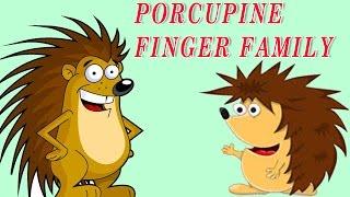 Porcupine Finger Family | Animal Finger Family