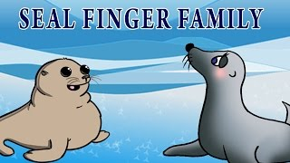 Seal Finger Family | Animal Finger Family