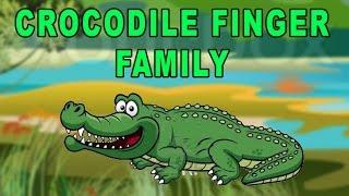 Crocodile Finger Family | Animal Finger Family