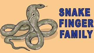 Snake Finger Family | Animal Finger Family