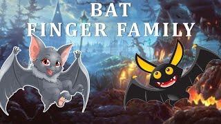 Bat Finger Family | Animal Finger Family