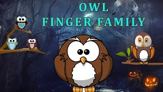 Owl Finger Family | Animal Finger Family