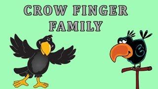Crow Finger Family | Animal Finger Family