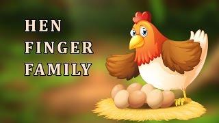 Hen | Animal Finger Family