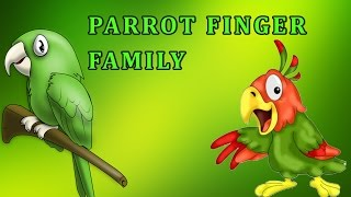 Parrot | Animal Finger Family