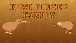 Kiwis | Animal Finger Family