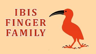 Ibis | Animal Finger Family