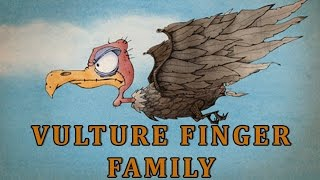 Vulture | Animal Finger Family