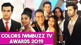 Rohit Suchanti At Colors TV Awards | Colors IWMBuzz TV