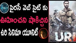 URI Movie Team Shocking Gift To Piracy Downloaders | Uri : The Surgical Strike | Top Telugu TV