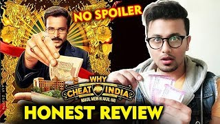 Why Cheat India | HONEST REVIEW | Emraan Hashmi, Shreya Dhanwanthary