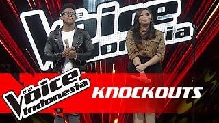 Panca vs Keisha   Knockouts   The Voice Indonesia GTV 2018