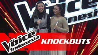 Naila vs Talitha   Knockouts   The Voice Indonesia GTV 2018