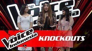 Anggi vs Cila   Knockouts   The Voice Indonesia GTV 2018