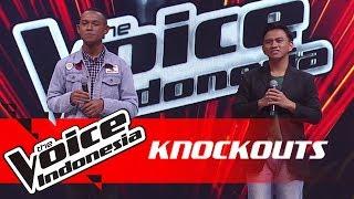 Aldo vs Yonathan   Knockouts   The Voice Indonesia GTV 2018